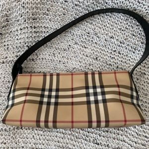 Authentic Burberry Nova Check small shoulder bag